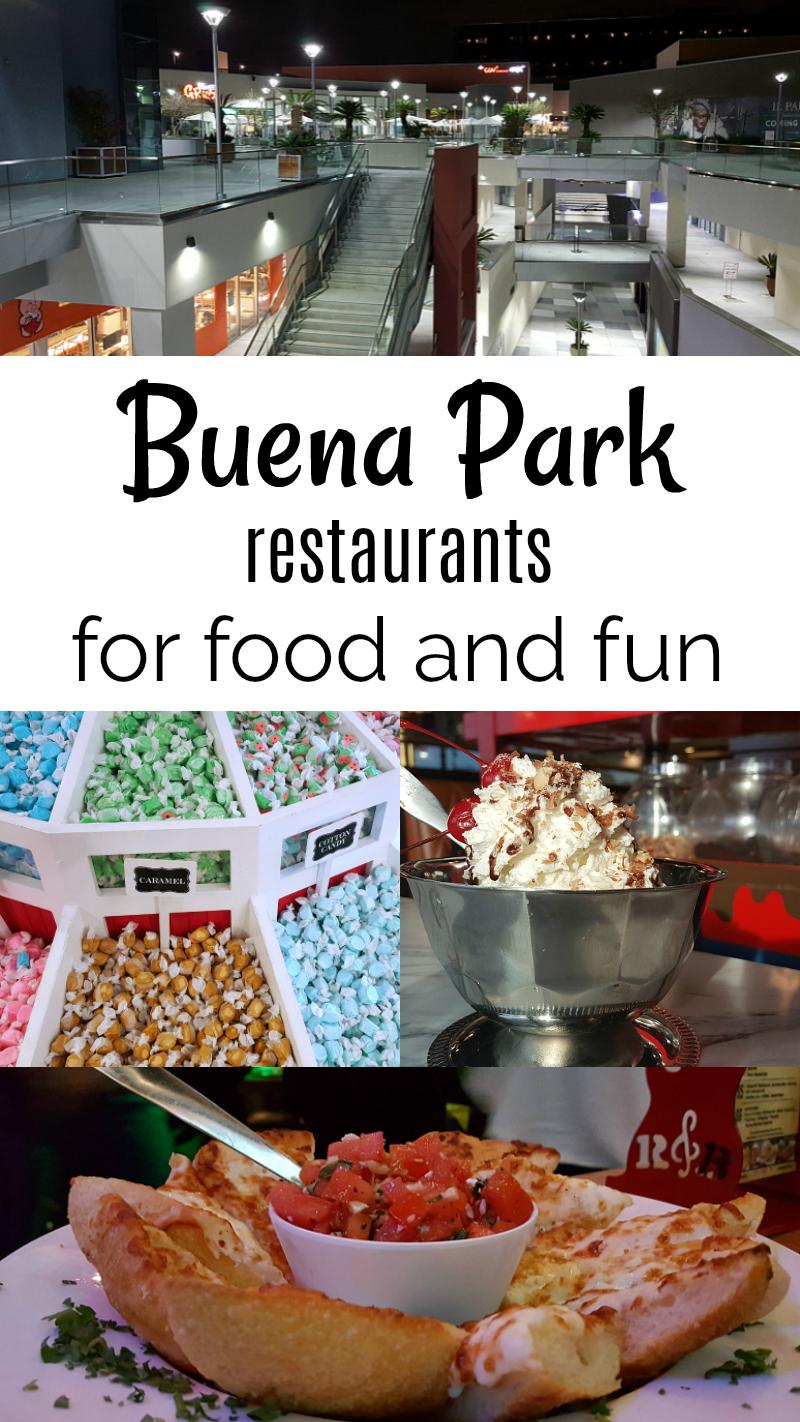 Buena Park Restaurants for Food and Fun in Orange County California